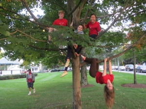 WA kids Hangin around - Sustainable Westford