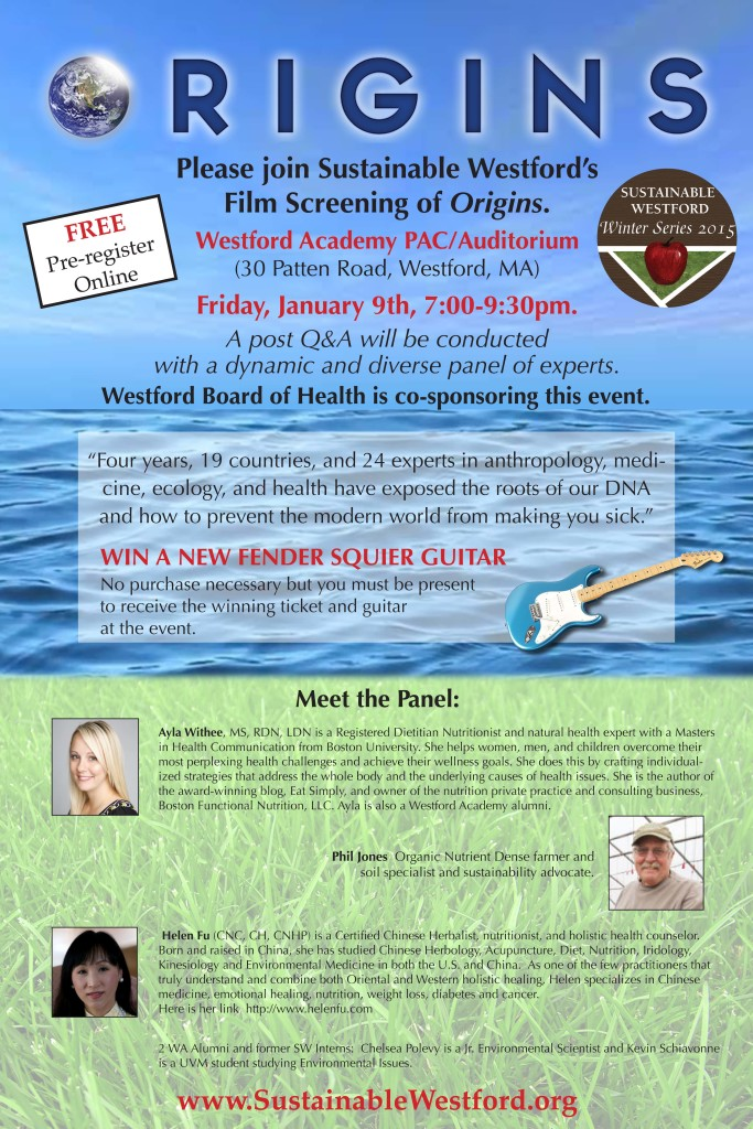Origins Film Screening - Winter Series