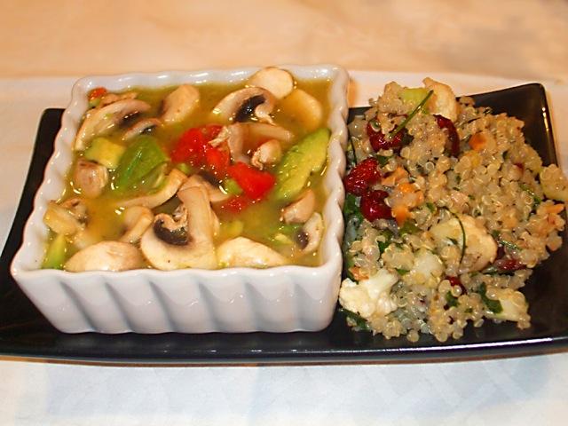 Quinoa Summer Tabbouleh