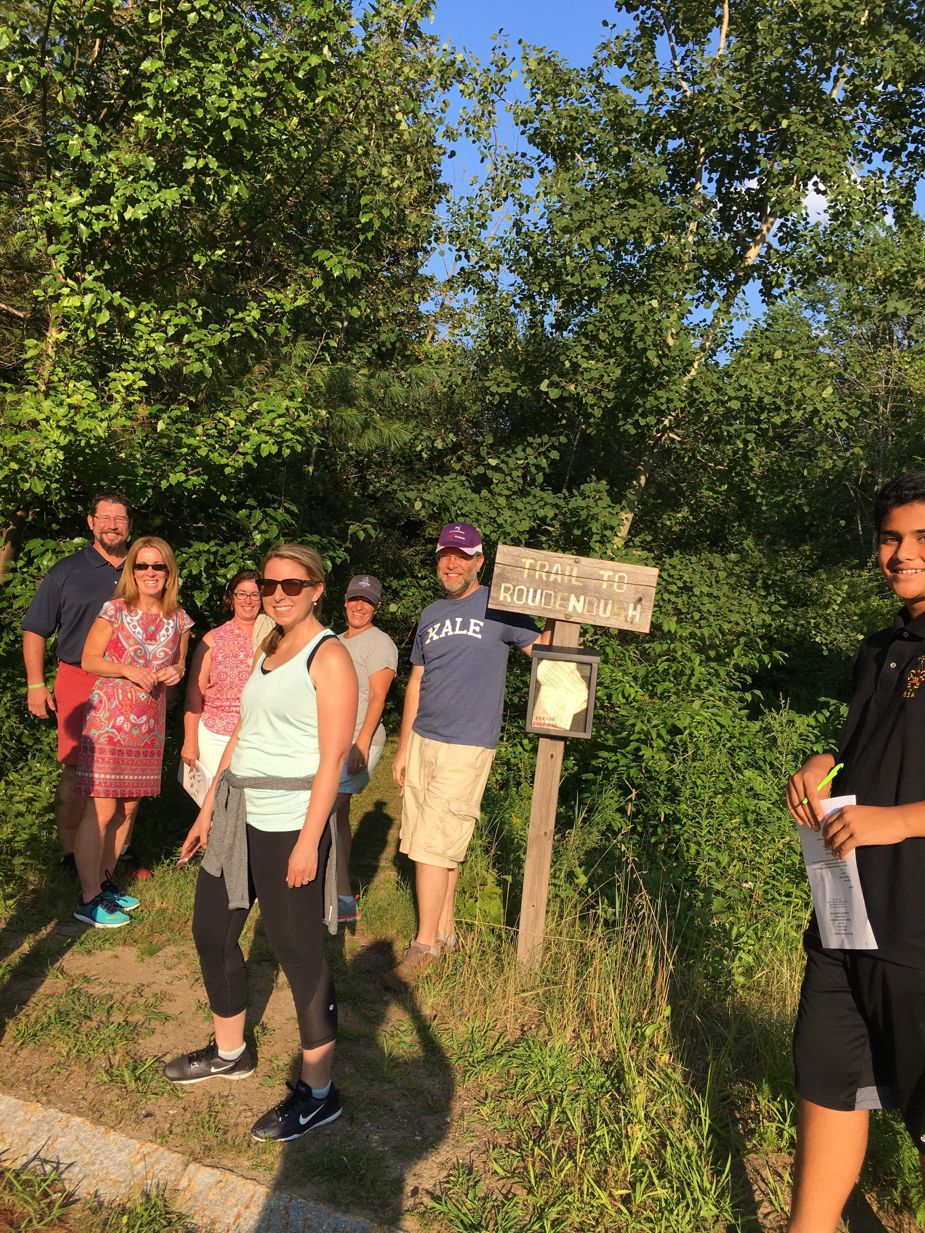 Healthy Westford Trail Day