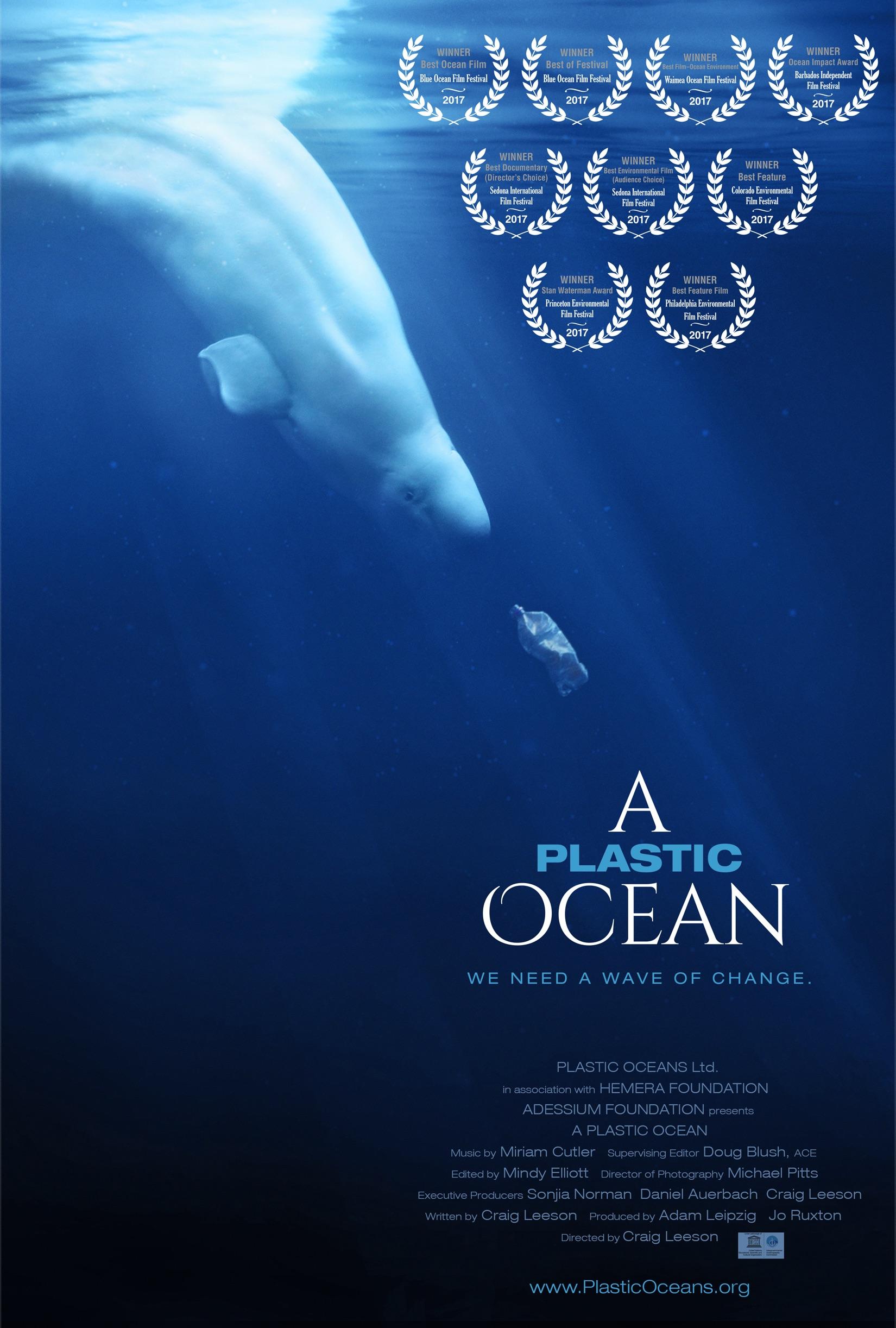 "Film Screening: ""A Plastic Ocean"" with post Q & A"